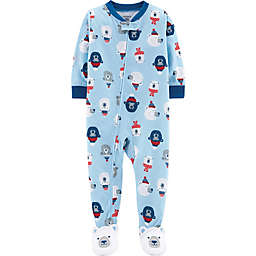 carter's® Polar Bear Sleep & Play in Light Blue