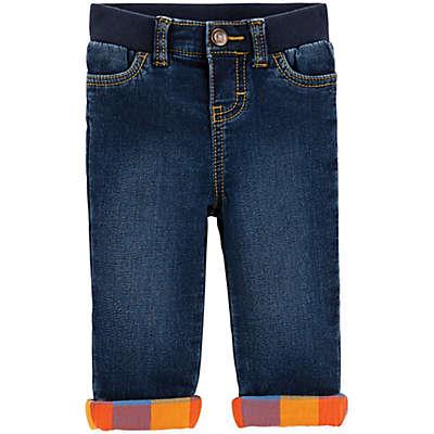 OshKosh B'Gosh® Riverdale Wash Lined Jeans in Blue