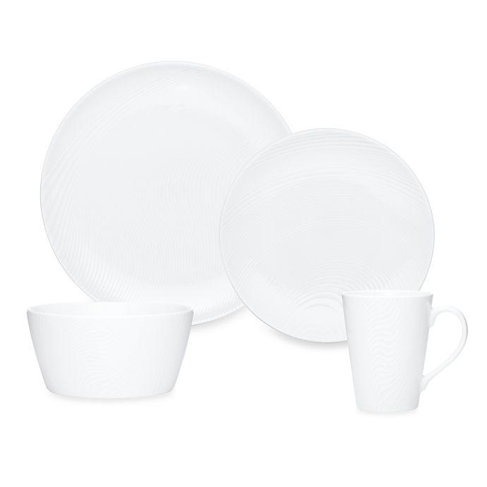 Alternate image 1 for Noritake® White on White Dune Round Dinnerware Collection