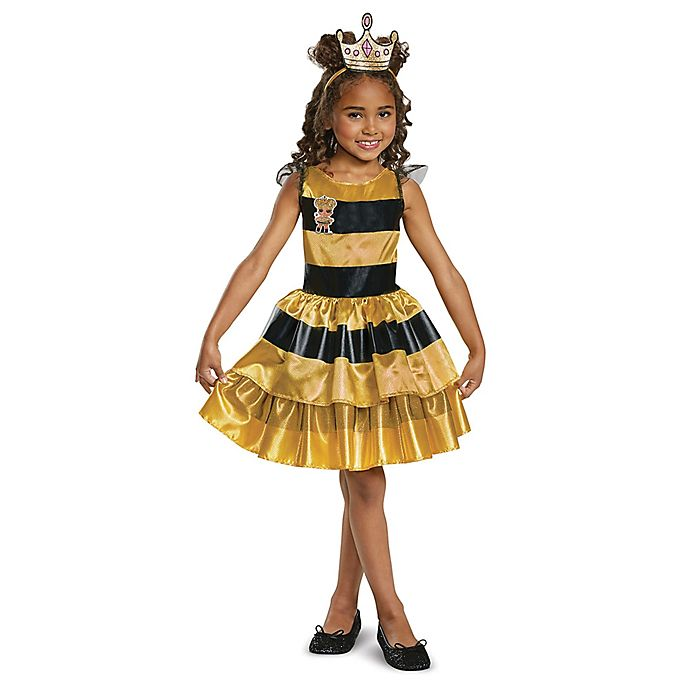 Alternate image 1 for L.O.L Dolls Queen Bee Classic Small Child's Halloween Costume