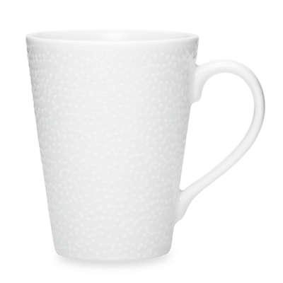 Noritake® White on White Snow Mug