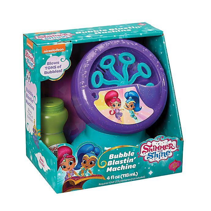 Alternate image 1 for Nickelodeon™ Shimmer and Shine Bubble Blastin' Machine in Purple