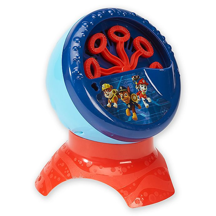 Alternate image 1 for Nickelodeon™ PAW Patrol Bubble Machine in Blue