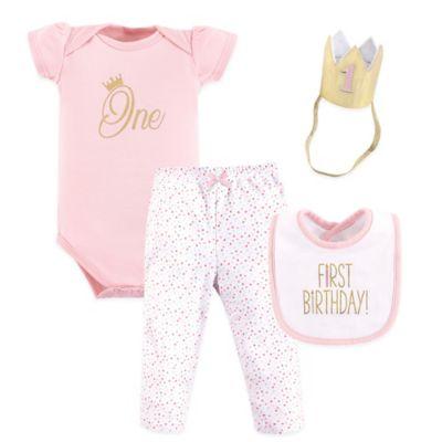cdf10e307e3fc Hudson Baby® Size 12M 4-Piece