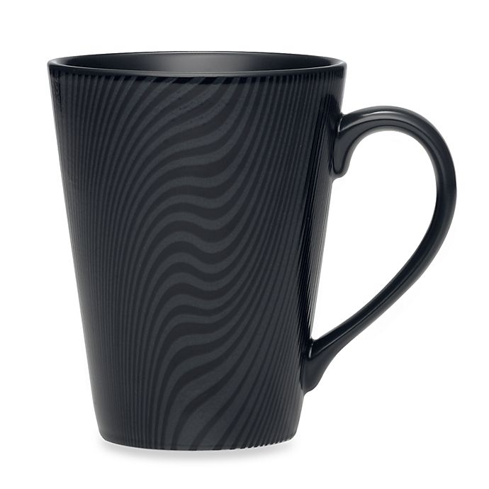 Alternate image 1 for Noritake® Black on Black Dune Mug