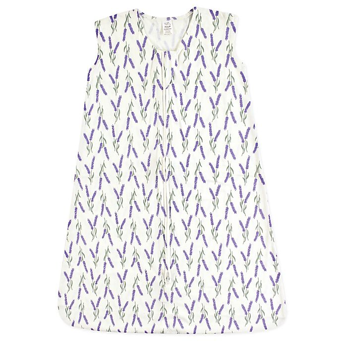 Alternate image 1 for Touched by Nature Lavender Organic Cotton Sleeping Bag