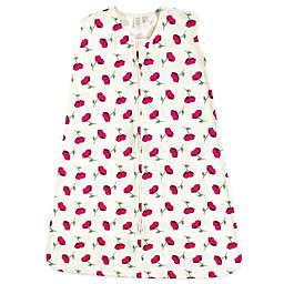 Touched by Nature Petals Organic Cotton Sleeping Bag in Red