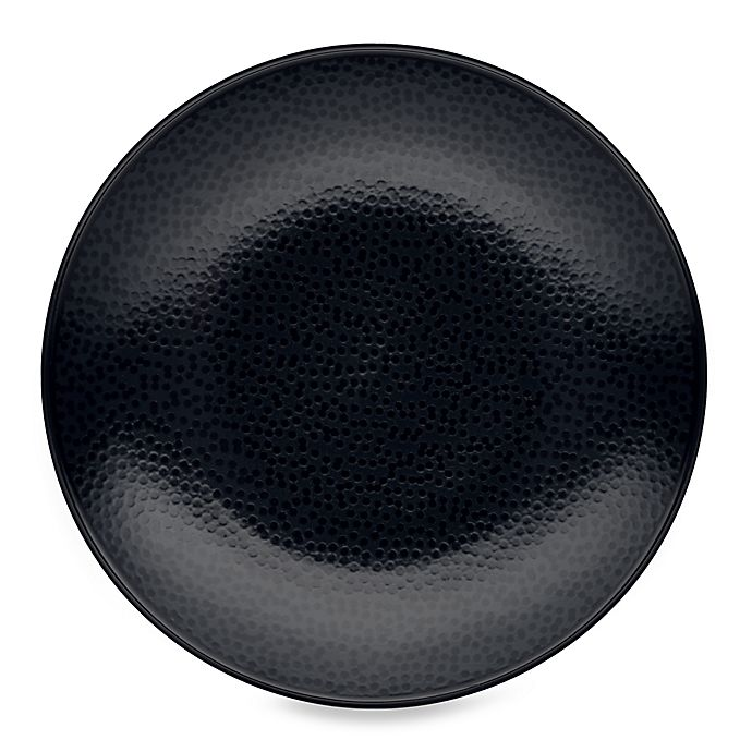 Alternate image 1 for Noritake® Black on Black Snow Round Salad Plate
