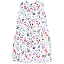 Hudson Baby® Size 12-18M Woodland Fox Sleeping Bag in Pink