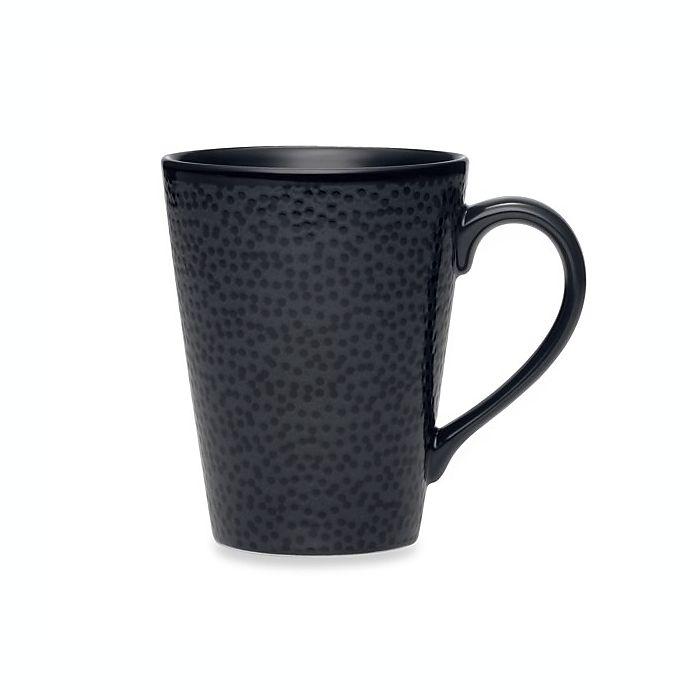 Alternate image 1 for Noritake® Black on Black Snow Mug