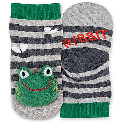 Ellen DeGeneres™ 0-6 Month Frog Rattle Baby Sock
