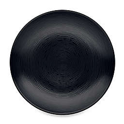 Noritake® Black on Black Swirl Round Salad Plate