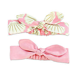 c5e75aaf79 Silkberry Baby® 2-Pack Shell Bow Headbands