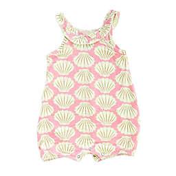 Silkberry Baby® Seashell Romper in Pink