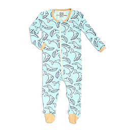 Silkberry Baby® Whale Footed Sleeper