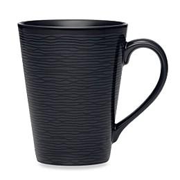 Noritake® Black on Black Swirl Mug