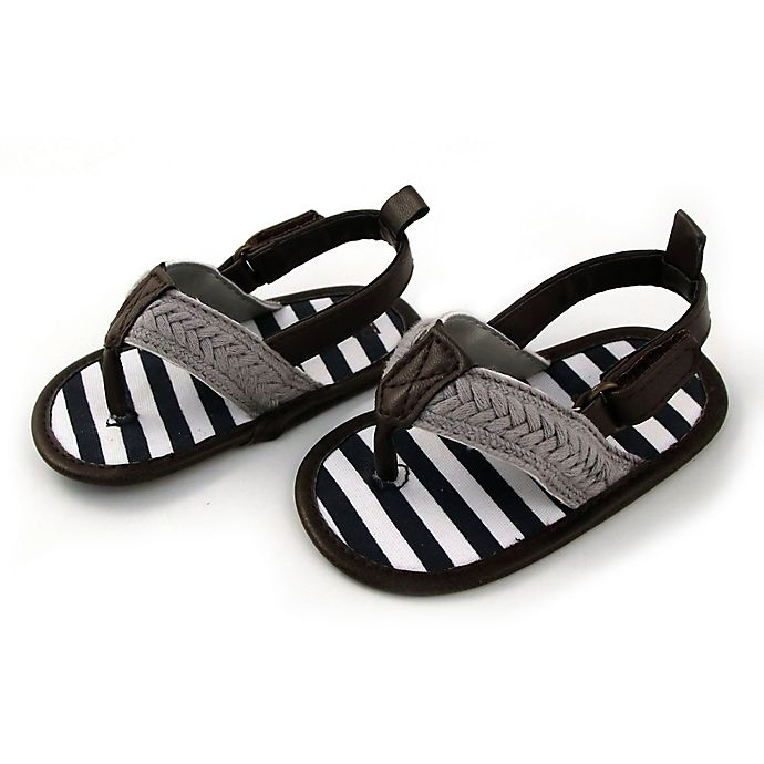 Alternate image 1 for Rising Star™ Thong Sandals in Grey