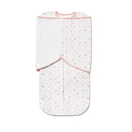BreathableBaby® Swaddle Trio in Pink Star