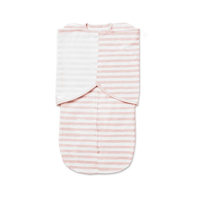 Alternate image 1 for BreathableBaby® Swaddle Trio in Pink Stripe