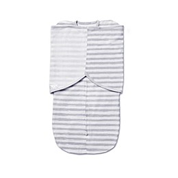 BreathableBaby® Swaddle Trio in Grey Stripe