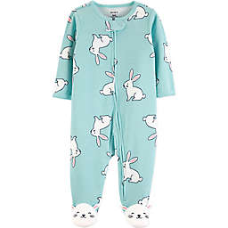 carter's® Preemie Bunny Sleep N' Play Footie in Mint