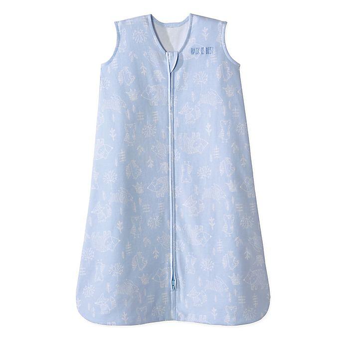 Alternate image 1 for HALO® SleepSack® XLarge Wearable Blanket in Blue Woodland