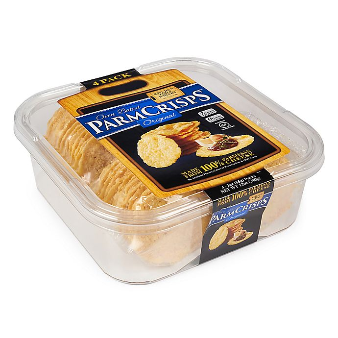 Parmcrisps 4 Count 3 Oz Kitchen Table Bakers Oven Baked Crisps Bed Bath Beyond