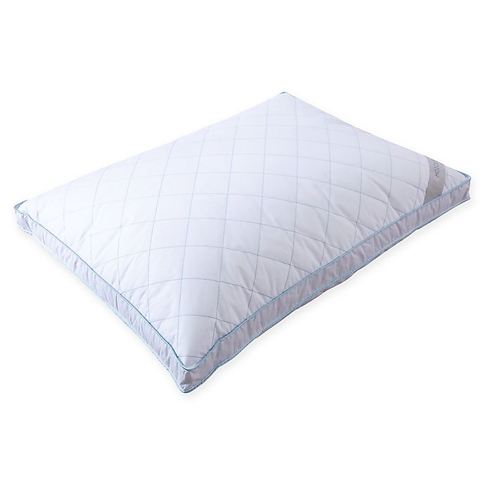 Alternate image 1 for Choicest Comfort Quilted Feather Standard/Queen Pillow