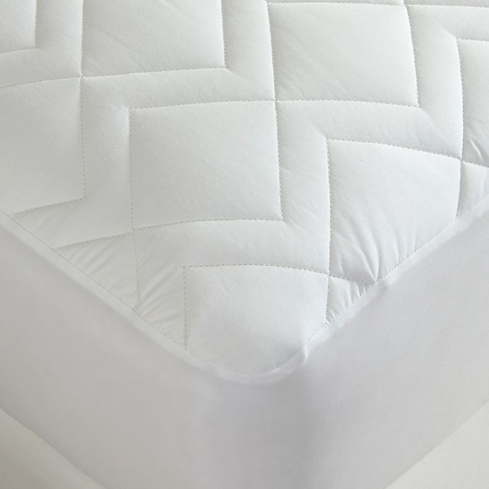 Alternate image 1 for Downtown Company Waterproof Quilted Twin XL Mattress Pad
