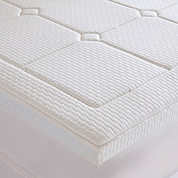 Sleep Philosophy Flexapedic 3-Inch Deluxe Gel Memory Foam Mattress Topper