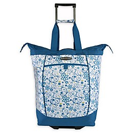 Pacific Coast 20.5-Inch Rolling Shopper Tote Bag