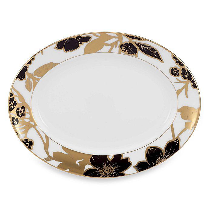 Alternate image 1 for Lenox® Minstrel Gold™ 13-Inch Oval Platter