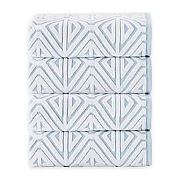 Enchante Home Glamour Turkish Cotton Bath Towels (Set of 4)