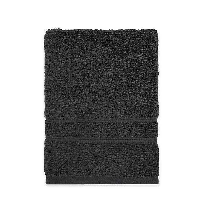 Alternate image 1 for Under the Canopy® Organic Cotton Hand Towel in Charcoal