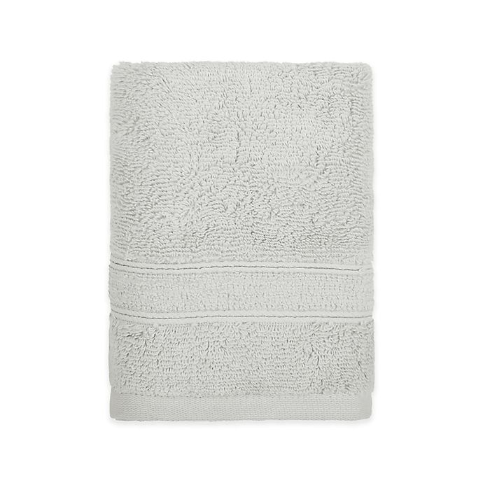 Alternate image 1 for Under the Canopy® Organic Cotton Hand Towel in Silver