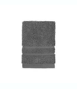 Toalla facial de algodón orgánico Under the Canopy® en gris titanio