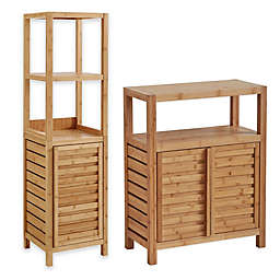 Haven™ No Tools Bamboo Bathroom Furniture Collection