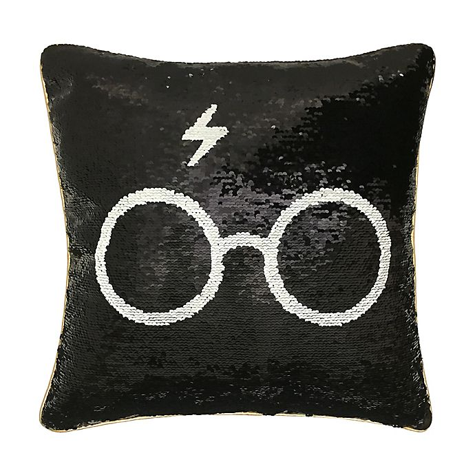 Harry Potter Sequin Spectacles Throw Pillow Bed Bath Beyond