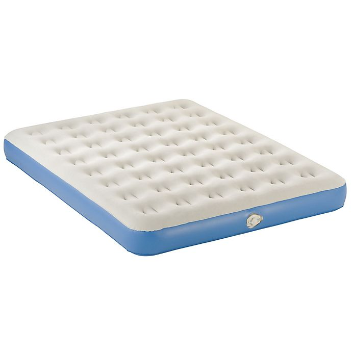 Alternate image 1 for AeroBed® Classic Queen-Size Air Mattress in Blue