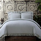 Voile King Comforter Set in Grey
