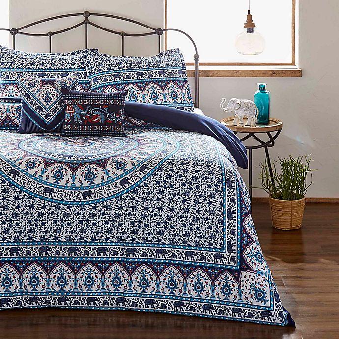 Alternate image 1 for Azalea Skye® Amena King Comforter Set in Indigo