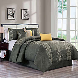 Parry Embroidered Comforter Set