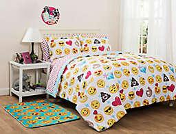 EmojiPals Reversible Comforter Set