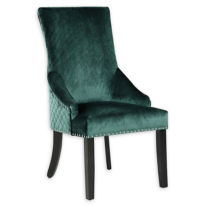 Alternate image 1 for Chic Home Vinnitsa Dining Chairs in Green (Set of 2)