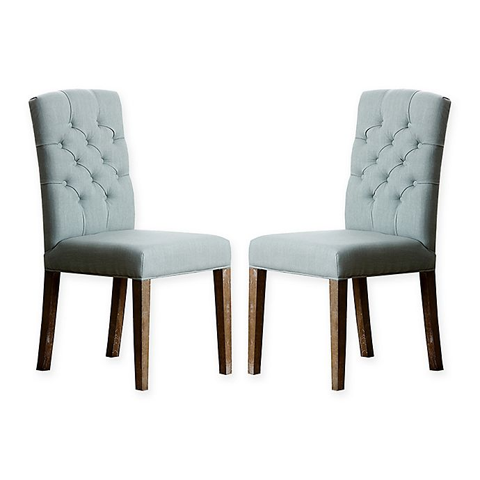 Alternate image 1 for Avi Dining Chairs in Blue (Set of 2)