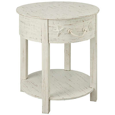 Coast to Coast Imports LLC™ Barlow Accent Table in White