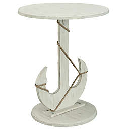 Coast to Coast Imports LLC™ Oceana Anchor Accent Table in White