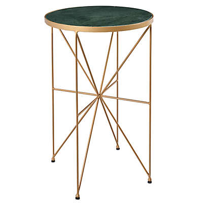 Coast to Coast Imports Haven Accent Table in Gold
