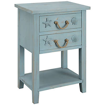 Coast to Coast Imports LLC™ Confetti Accent Table in Blue