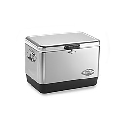 Coleman® 54-Quart Stainless Steel Belted® Cooler